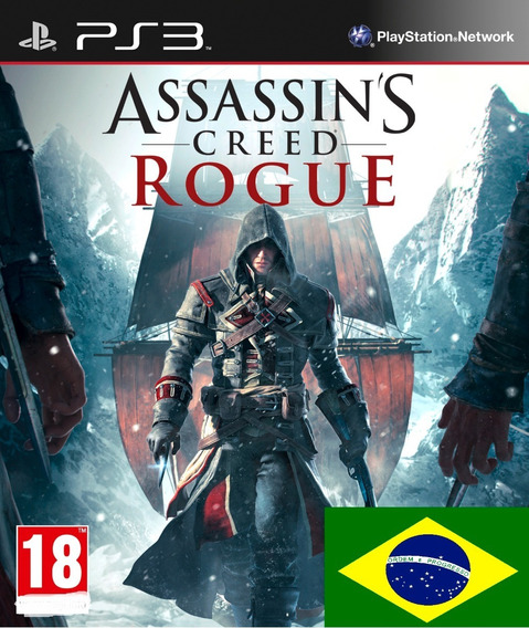 Assassins Creed Rogue Psn Ps3 Envio Imediato