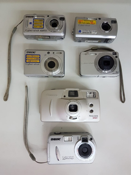 17 Cameras Cyber-shot Dsc-s40/s600/p32/s730/w110 Prima Quick
