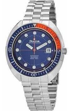 Relógio Bulova Oceanographer Automático 96b321 Novo Original