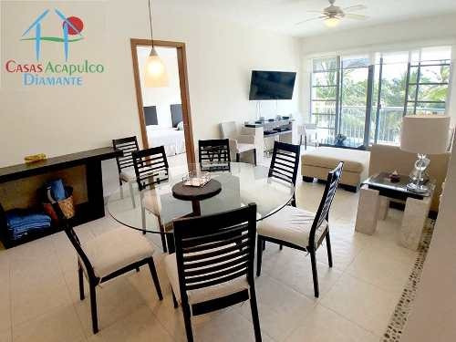 Cad Mayan Lakes 3-304 Club De Playa Propio. Amueblado