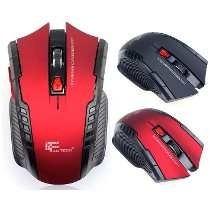 Mouse Sem Fio 2.4ghz Wirelles 6d Preto Fantech