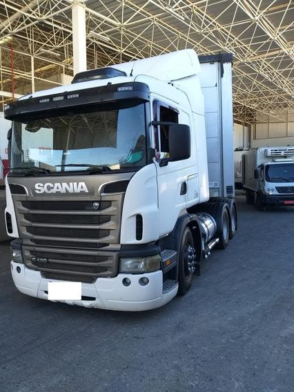 Scânia G 420, 6x2, Semi Automática, 2011, Motor Novo!!