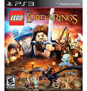 Lego The Lord Of The Rings Ps3 Fisico Sellado Envio Gratis Jazz Pc