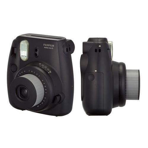 Câmera Instantânea Fuljfilm Instax Mini 8 Preta.