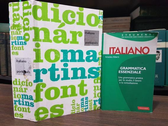 Dicionário De Italiano Português + Grammatica Essenziale
