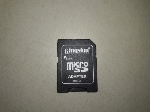 Adaptador Memoria Micro Sd A Sd Común Kingston