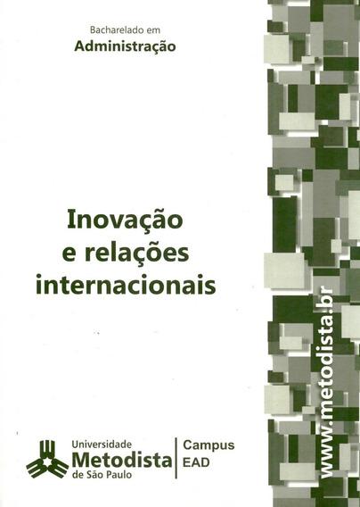 Inovação E Relações Internacionais - Umesp - 2011- No Cartão