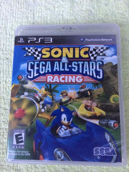 Sonic & Sega All-stars Racing Ps3 Midia Fisica Frete Grátis