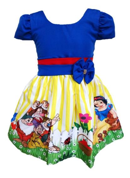 Kit 13 Vestido Temático Infantil Tema Festa Atacado Revenda
