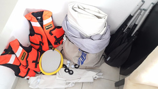 Kayak Inflable Seaeagle Se 370 + 2 Chalecos Salvavidas Remos
