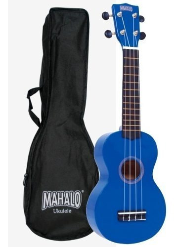 Ukulele Soprano Mahalo (mr1bu) Série Arco-iris Azul