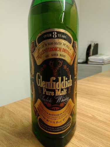 Whisky Glenfiddich - 8 Years Old - Single Malt - 1970