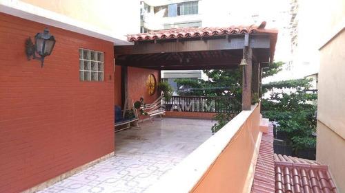 Casa Com 4 Dormitórios À Venda, 200 M² Por R$ 5.900.000 - Icaraí - Niterói/rj - Ca0580