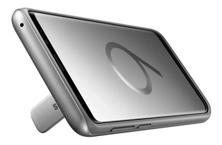 Funda Samsung Rugged Stand S9 S9 Plus Original + Vidrio Templado Curvo