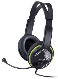 Auricular Con Micrófono Genius Hs-400a Headset Pc C/ Volumen