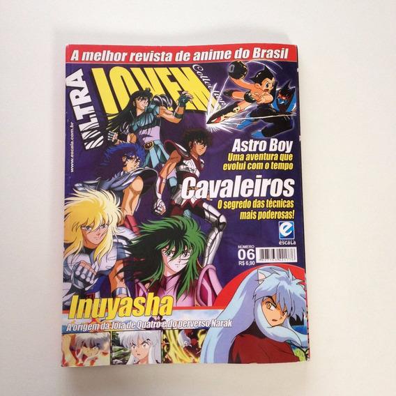 Revista Ultra Jovem Collection Cavaleiros Inuyasha N°06