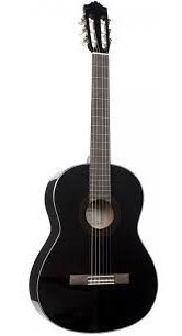 Guitarra Yamaha C-40 C/negro Inc Iva Estuche Gratis
