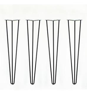 Hairpin Hierro Legs Patas Industrial 74 Cm Mesa