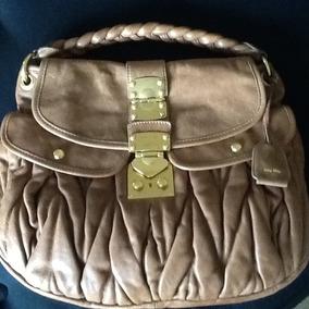 Bolsa Miu Miu Original Couro Ótimo Estado.