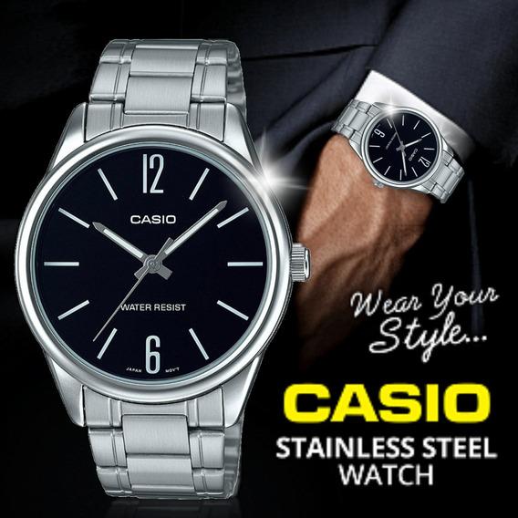 Relógio Casio Original Masculino Prateado Prova D
