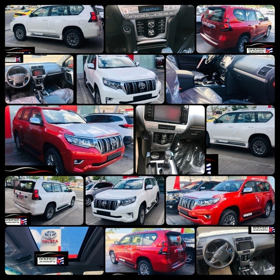 Toyota Land Cruiser Prado Vxl Año 2020