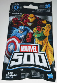 Marvel 500 Series 4, Mini Figuras, 2 Pulgadas Hasbro
