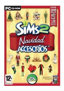 Los Sims 2 Navidad Expansion Pc Accesorios Original Fisico