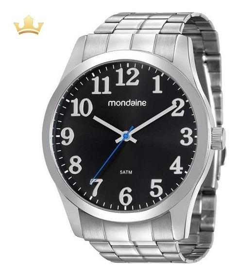 Relógio Mondaine Masculino 99192g0mvne1 Com Nf