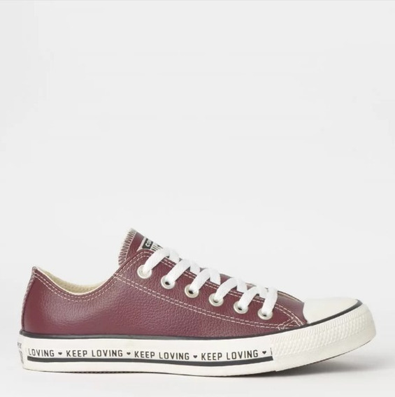 Ênis Converse Chuck Taylor All Star Ox Couro Ct12090002