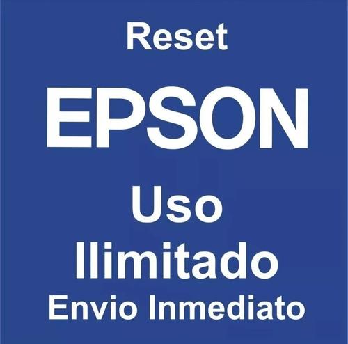 Reset Epson L3110 3150
