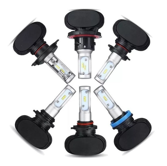 Kit Lampada Farol Ultra Led H1 H3 H4 H7 H8 H11 Hb3 Hb4 H27