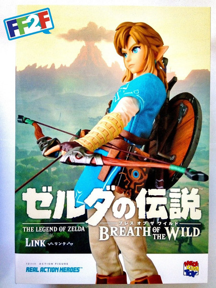 Link Breath Of The Wild Real Action Heroes Legend Zelda Rah