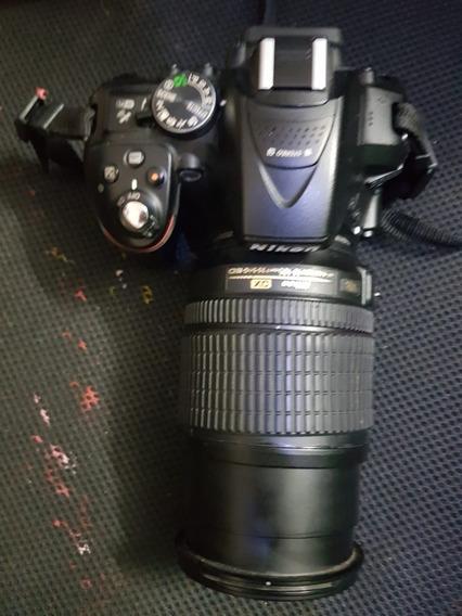 Câmera Nikon D 5300 Com Lente 18-105