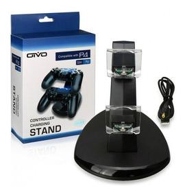 Carregador Duplo Para 2 Controles Playstation 4 Ps4 Slim Pro