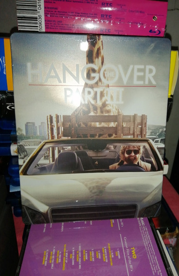 The Hangover Part Iii (¿que Paso Ayer 3) Steelbook