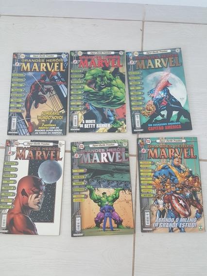 Grandes Heróis Marvel Premium Ed Abril