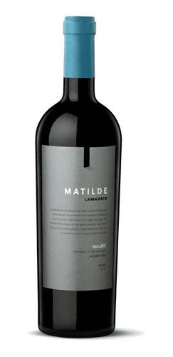 Imagen 1 de 1 de Vino Matilde Malbec Lamadrid Wines 750ml Local