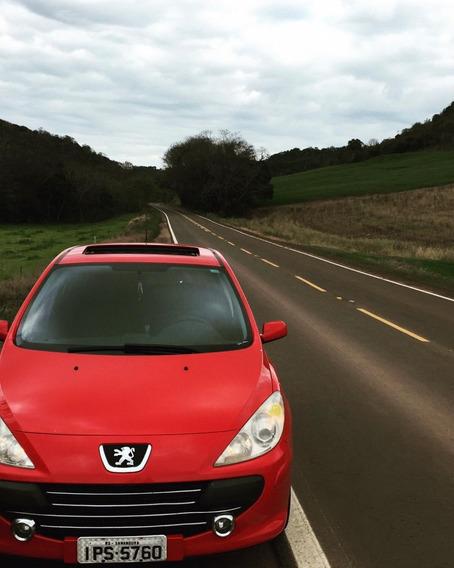 Peugeot 307 1.6 Com Teto Solar Ano 2009 Completo - Carro Lac