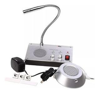 Citofono Intercomunicador 2 Vias Microfono Banco 72102