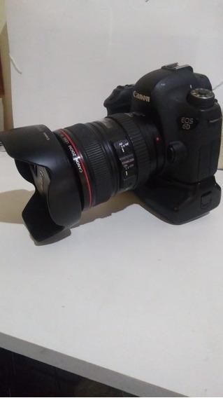 Canon 6d Full Frame + Grip + 2 Baterias + Carregador