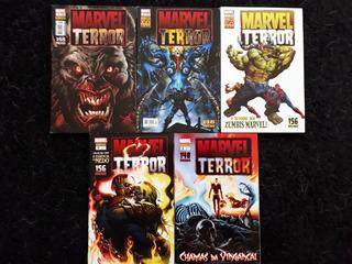 Revista Marvel Terror - 5 Edições Nunca Lidas - Muito Novas
