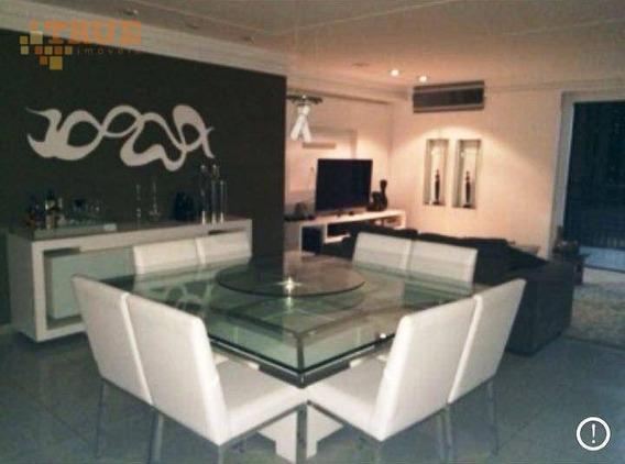 Apartamento Com 3 Dormitórios À Venda, 160 M² Por R$ 1.050.000,00 - Graças - Recife/pe - Ap2480
