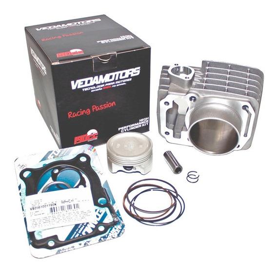 Kit Cilindro Motor Vedamotors Aumento Cilindrada Honda Cg Titan/fan/ Nxr Bros 150 P/ 190cc