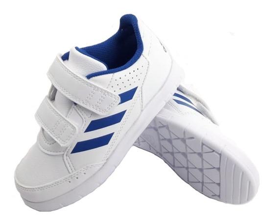 Zapatillas adidas Altasport Cf I Blanco Azul Niño Empo2000