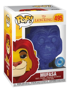 Mufasa Spirit Lion King Rey Leon Exclusive Funko Pop