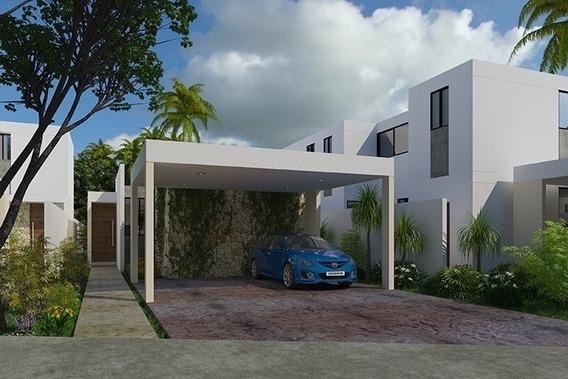 Preventa De Residencias 1 Planta En Privada Aleza Mod. 167. 3 Habitaciones.