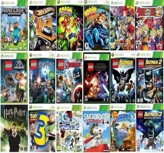Jogos Xbox360 Para Escolher ( Lista Abaixo Na Descriçao)