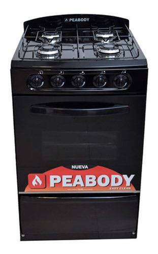 Cocina Peabody Multigas 53 Cm Negro