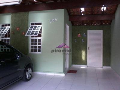 Casa Com 2 Dormitórios À Venda, 64 M² Por R$ 355.000 - Jardim Das Indústrias - São José Dos Campos/sp - Ca3177