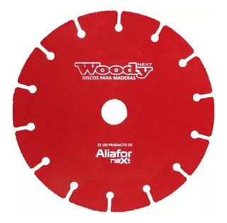 Disco Corte Madera Woody Aliafor 180 Mm Amoladora Dm-7